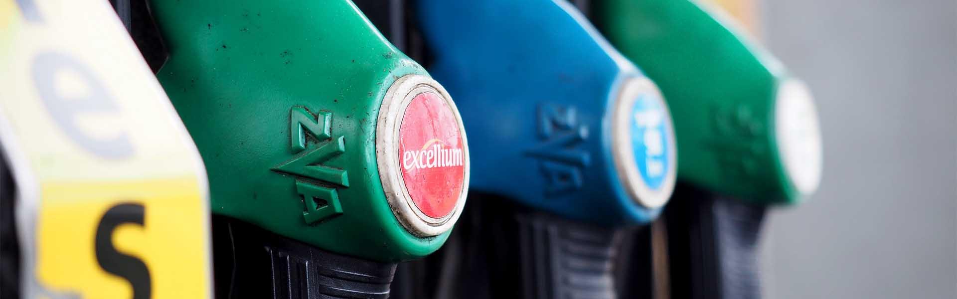 Benzine, LPG en diesel